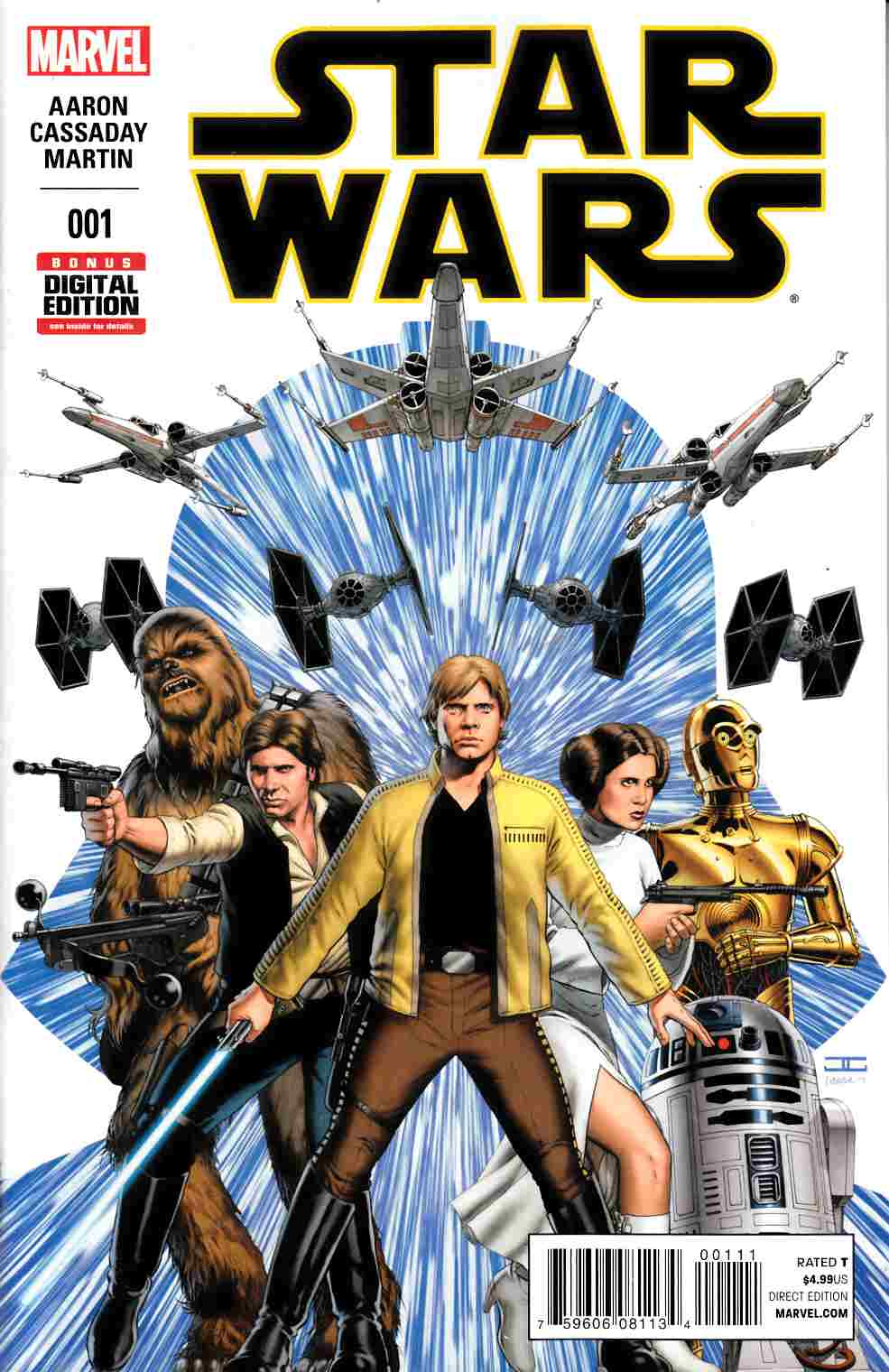 Star Wars #1 Near Mint (9.4) [Marvel Comic] LARGE