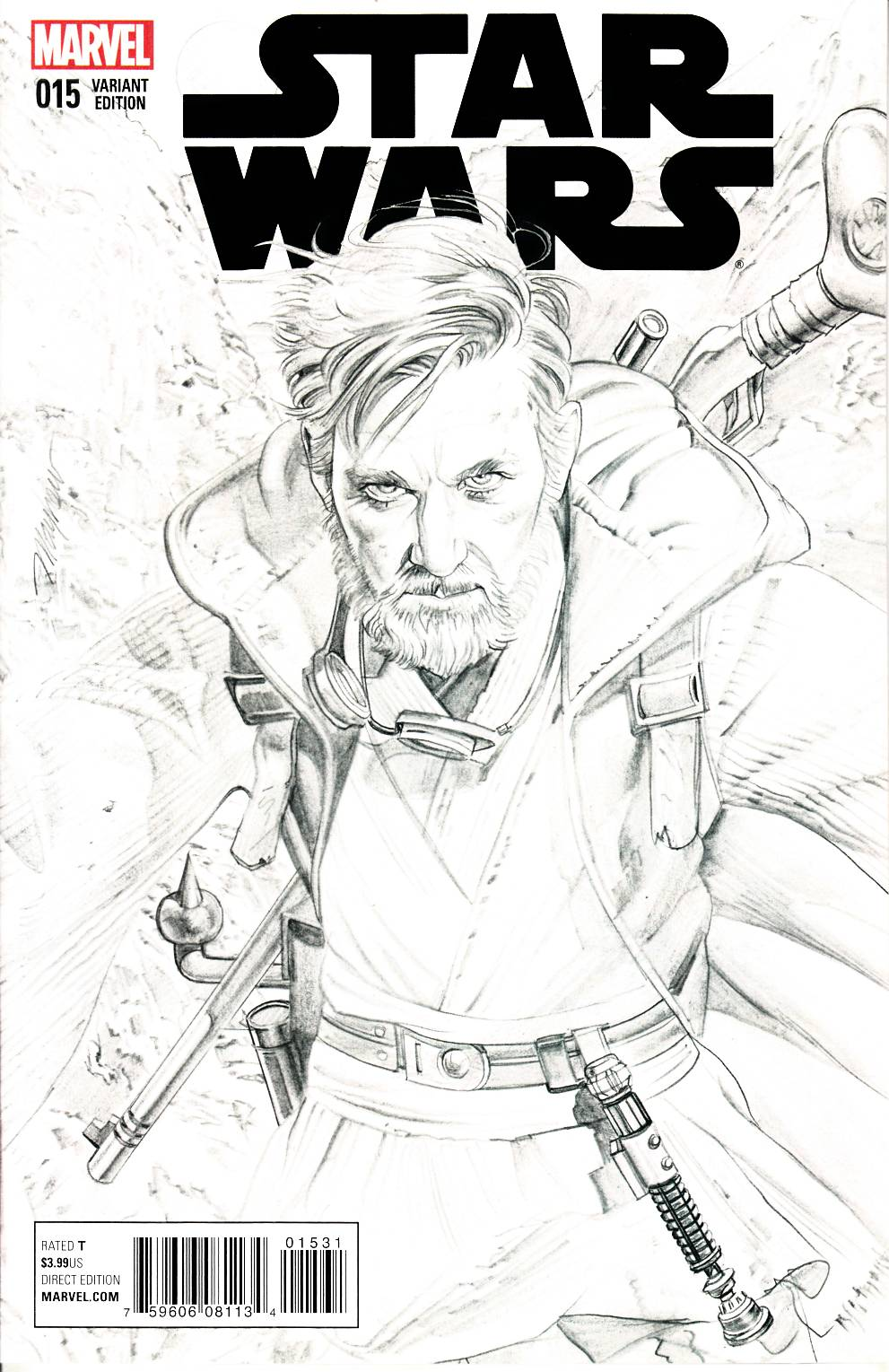 Star Wars #15 Mayhew Sketch Variant Cover [Marvel Comic]_LARGE