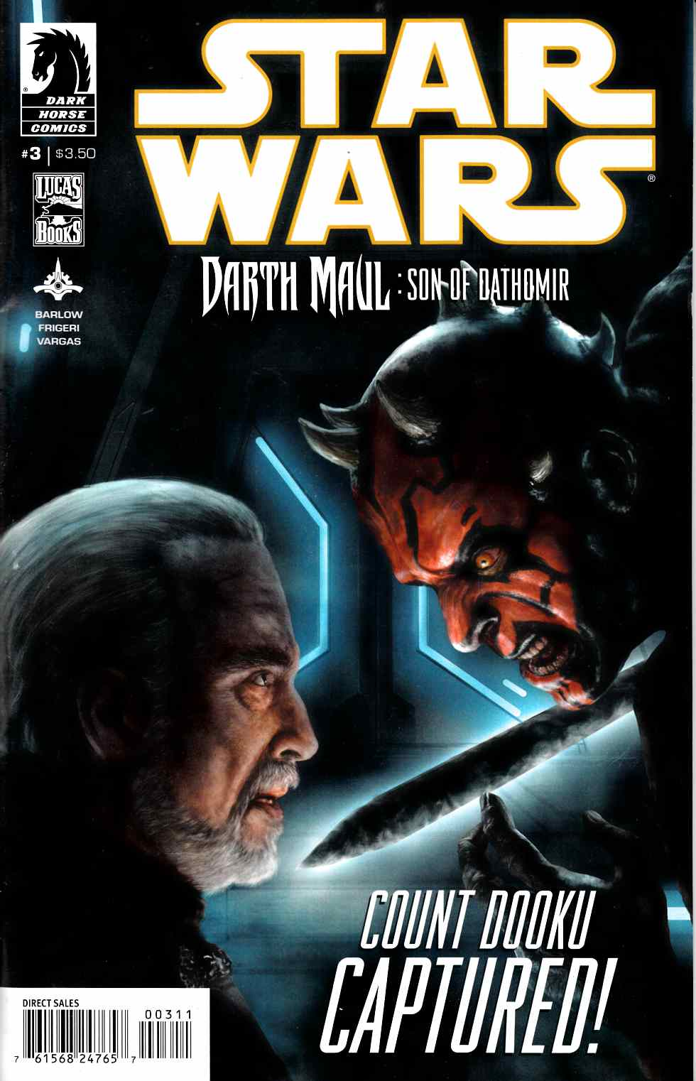 Star Wars Darth Maul Son of Dathomir #3 [Comic] THUMBNAIL