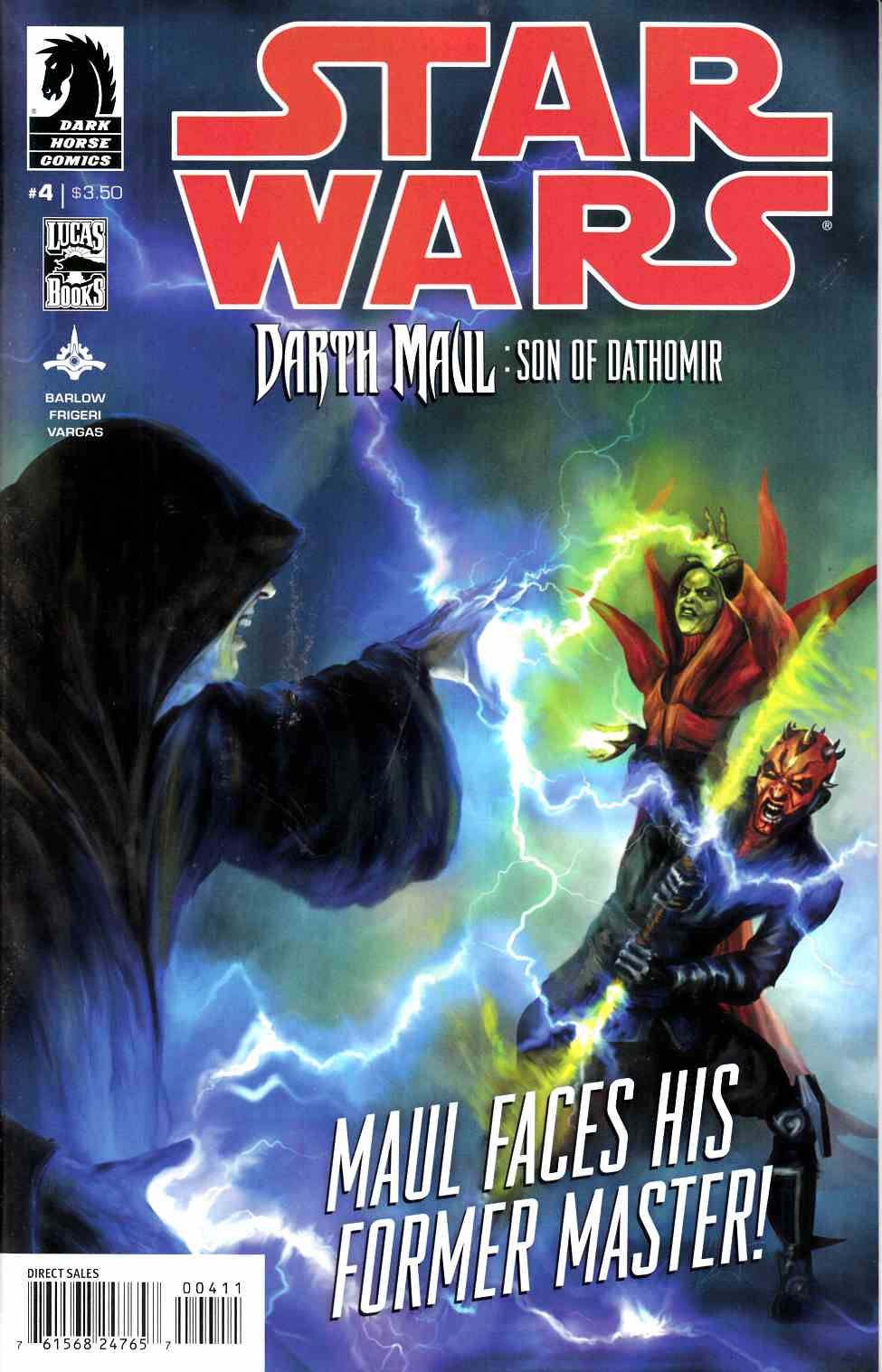 Star Wars Darth Maul Son of Dathomir #4 [Comic] THUMBNAIL