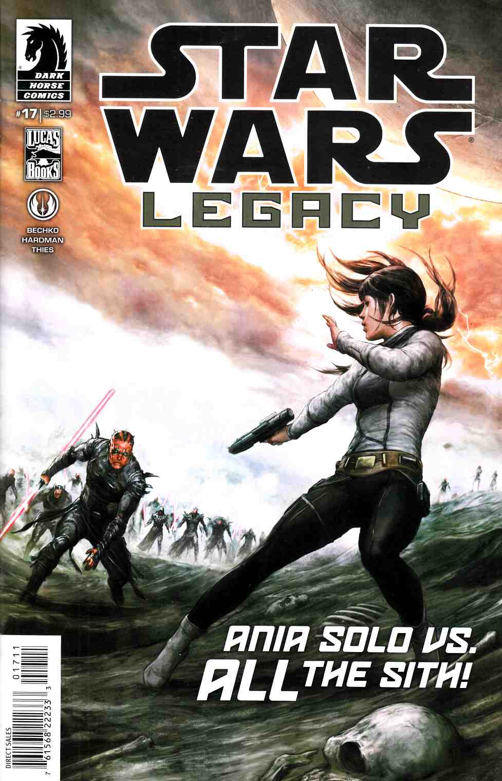 Star Wars Legacy II #17 Near Mint (9.4) [Dark Horse Comic] THUMBNAIL
