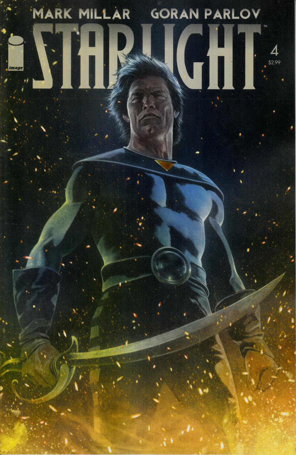 Starlight #4 Cover A- Charest [Comic] THUMBNAIL