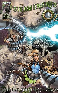 Steam Engines of Oz Volume 2 #3 Geared Leviathan [Comic] LARGE
