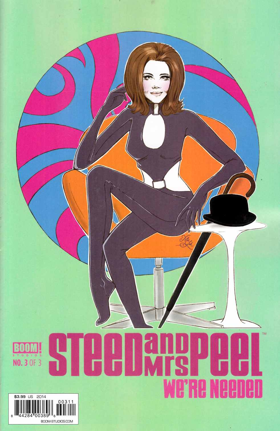 Steed & Mrs Peel Needed #3 [Comic]_THUMBNAIL