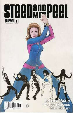 Steed and Mrs Peel Ongoing #1 Cover A- Meyers [Comic]