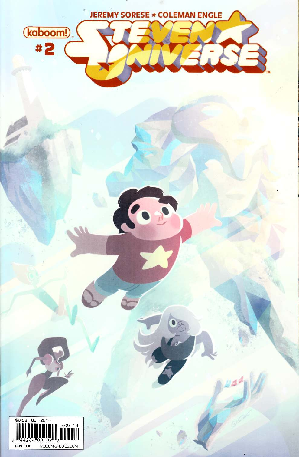 Steven Universe #2 Cover A Near Mint (9.4) [Boom Comic] THUMBNAIL