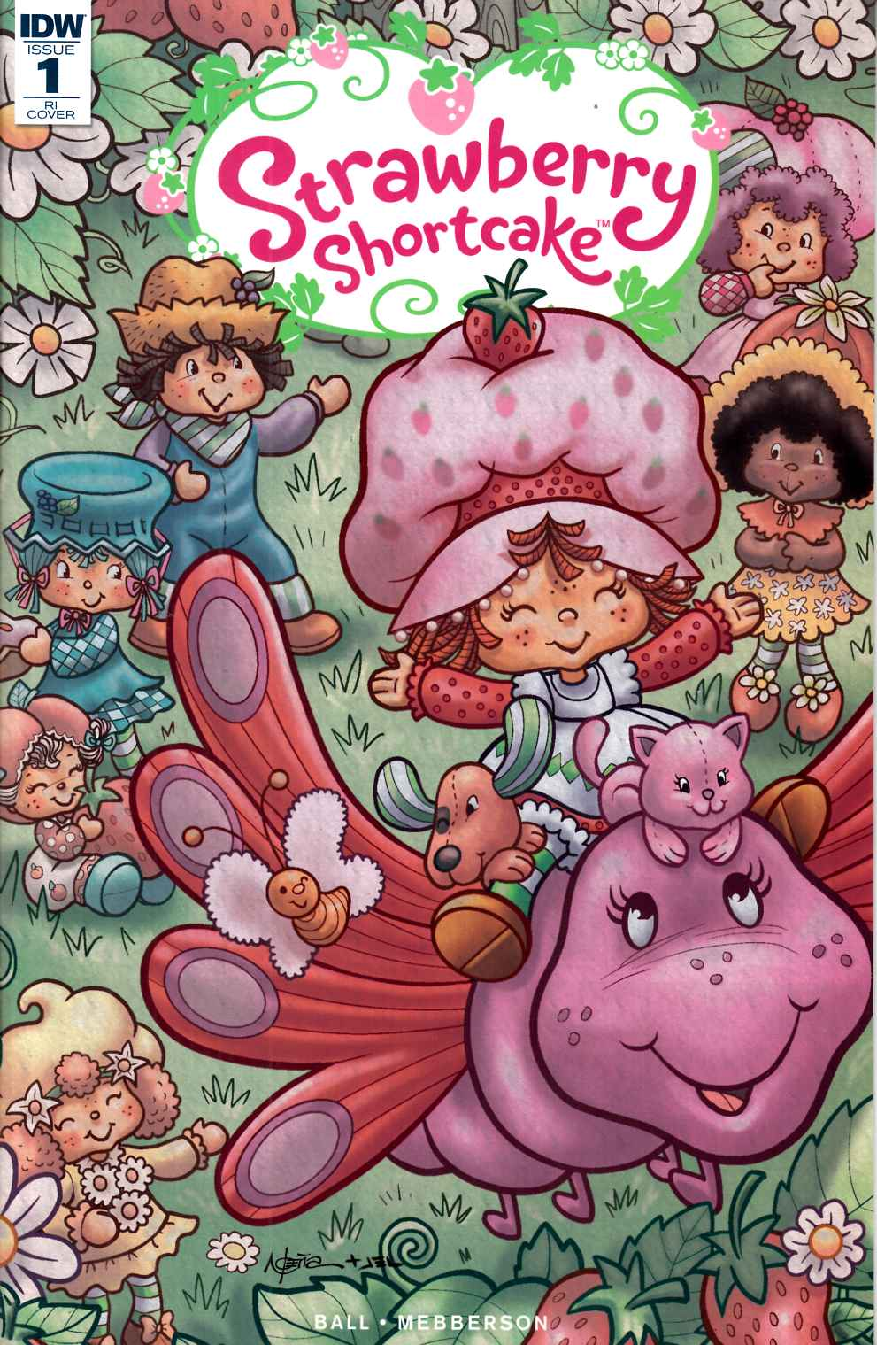 Strawberry Shortcake #1 Cover RI [IDW Comic]