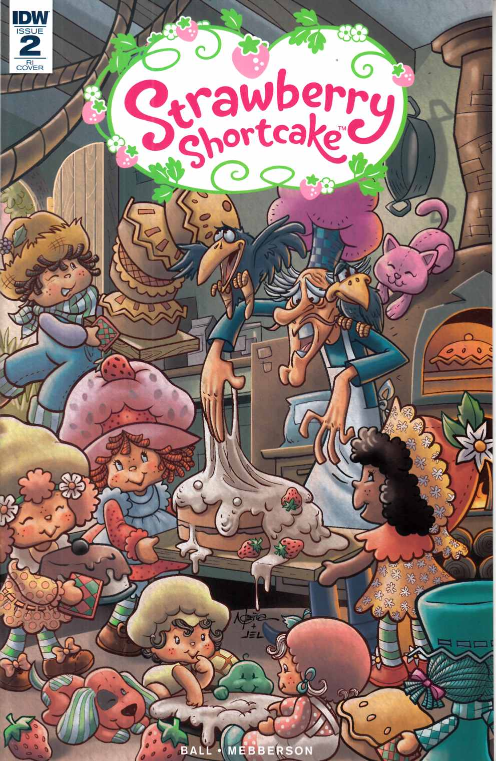 Strawberry Shortcake #2 Cover RI [IDW Comic] LARGE