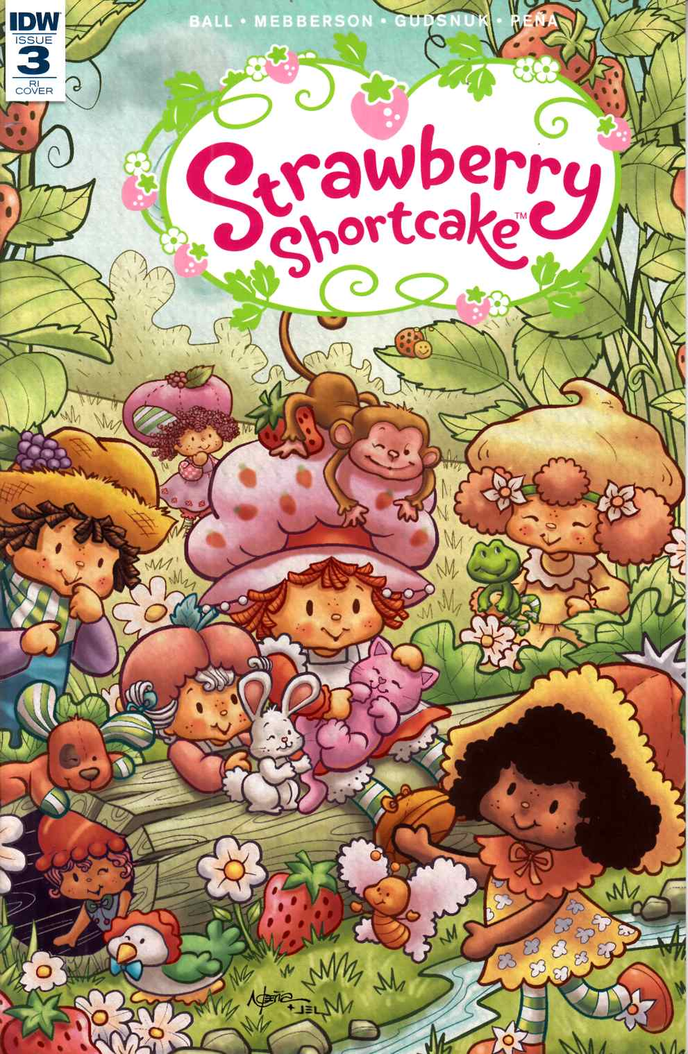Strawberry Shortcake #3 Cover RI [IDW Comic]