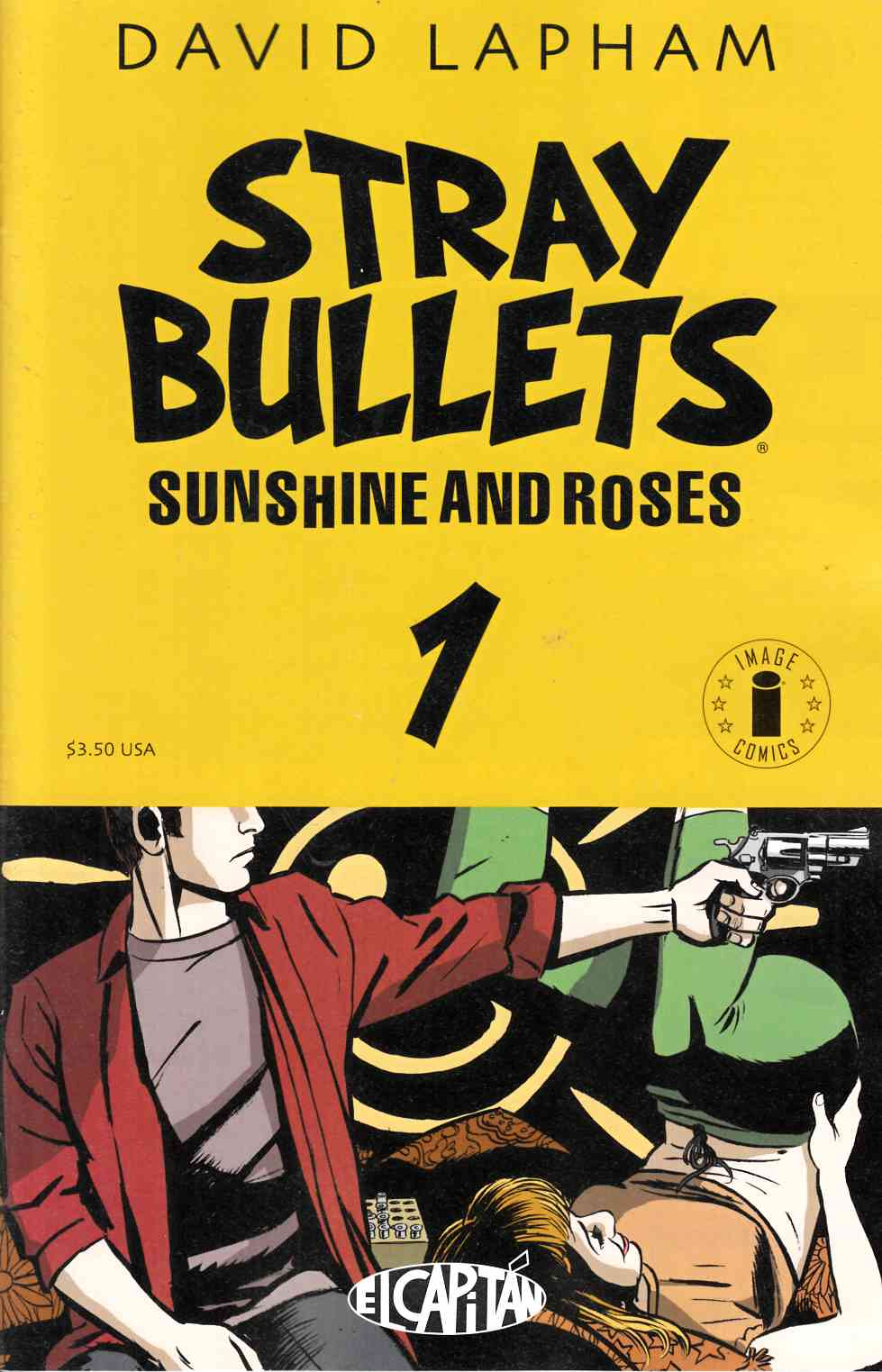 Stray Bullets Sunshine & Roses #1 Cover B- Display Circle Logo Edition [Image Comic]_THUMBNAIL