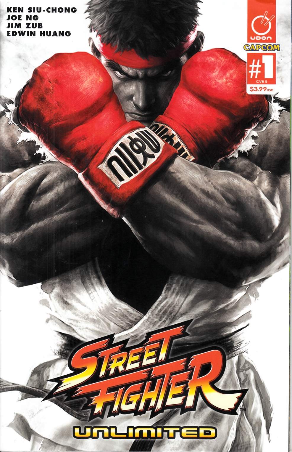 Street Fighter Unlimited #1 Cover E- Game Incentive [Udon Comic] THUMBNAIL