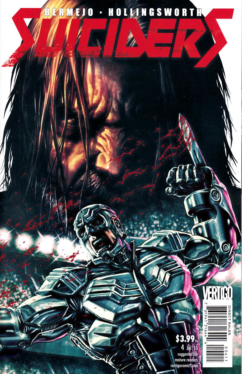 Suiciders #4 [DC Comic] LARGE