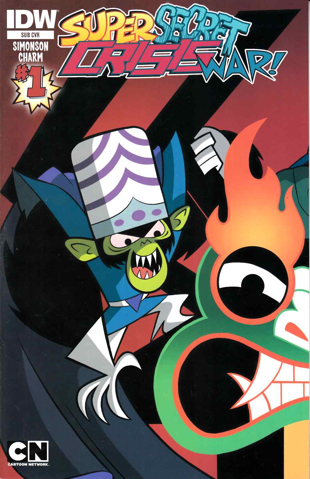 Cartoon Network Super Secret Crisis War #1 Subscription Cover [Comic] THUMBNAIL