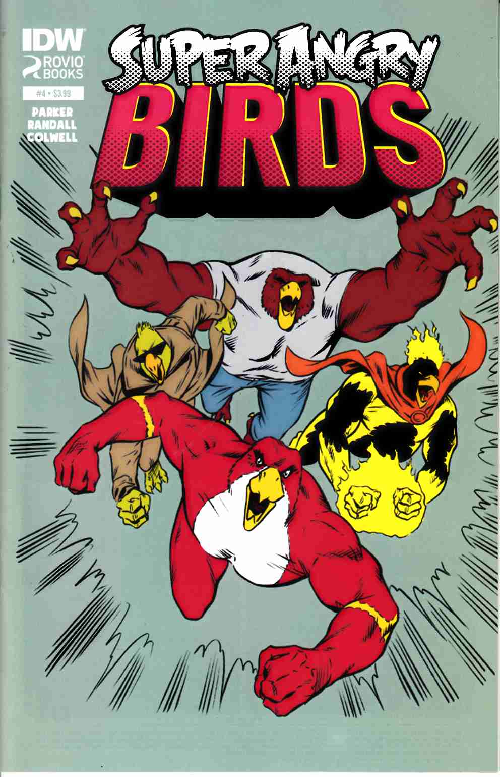 Angry Birds Super Angry Birds #4 [IDW Comic] LARGE