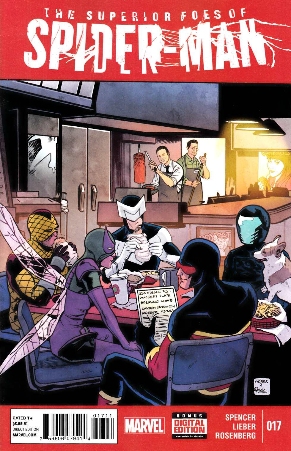 Superior Foes of Spider-Man #17 [Marvel Comic] – Dreamlandcomics.com Online  Store
