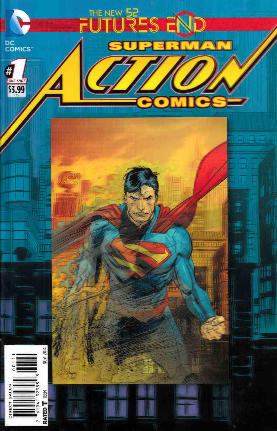 Action Comics Futures End #1 3D Edition [Comic] THUMBNAIL