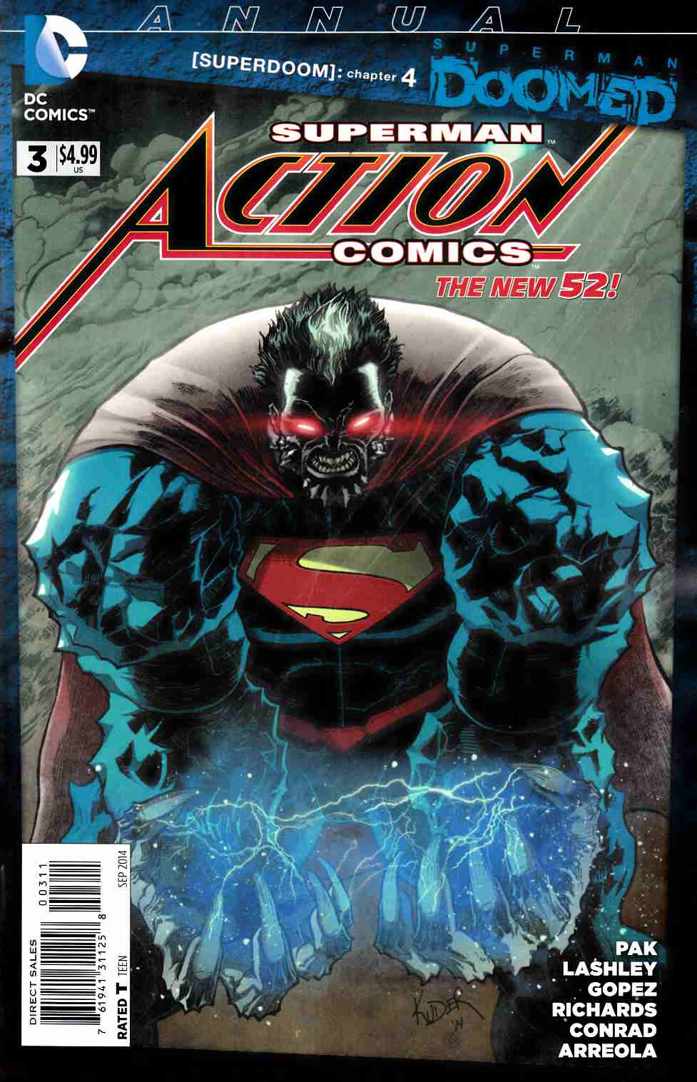 Action Comics Annual #3 (Doomed) [Comic] THUMBNAIL