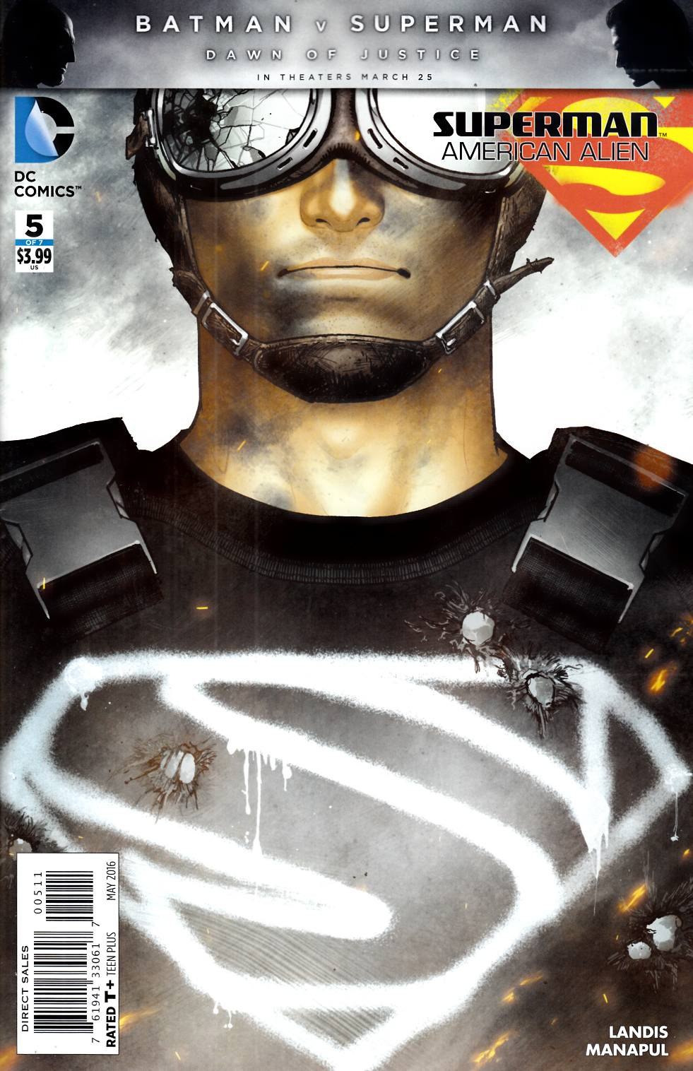 Superman American Alien #5 [DC Comic] THUMBNAIL