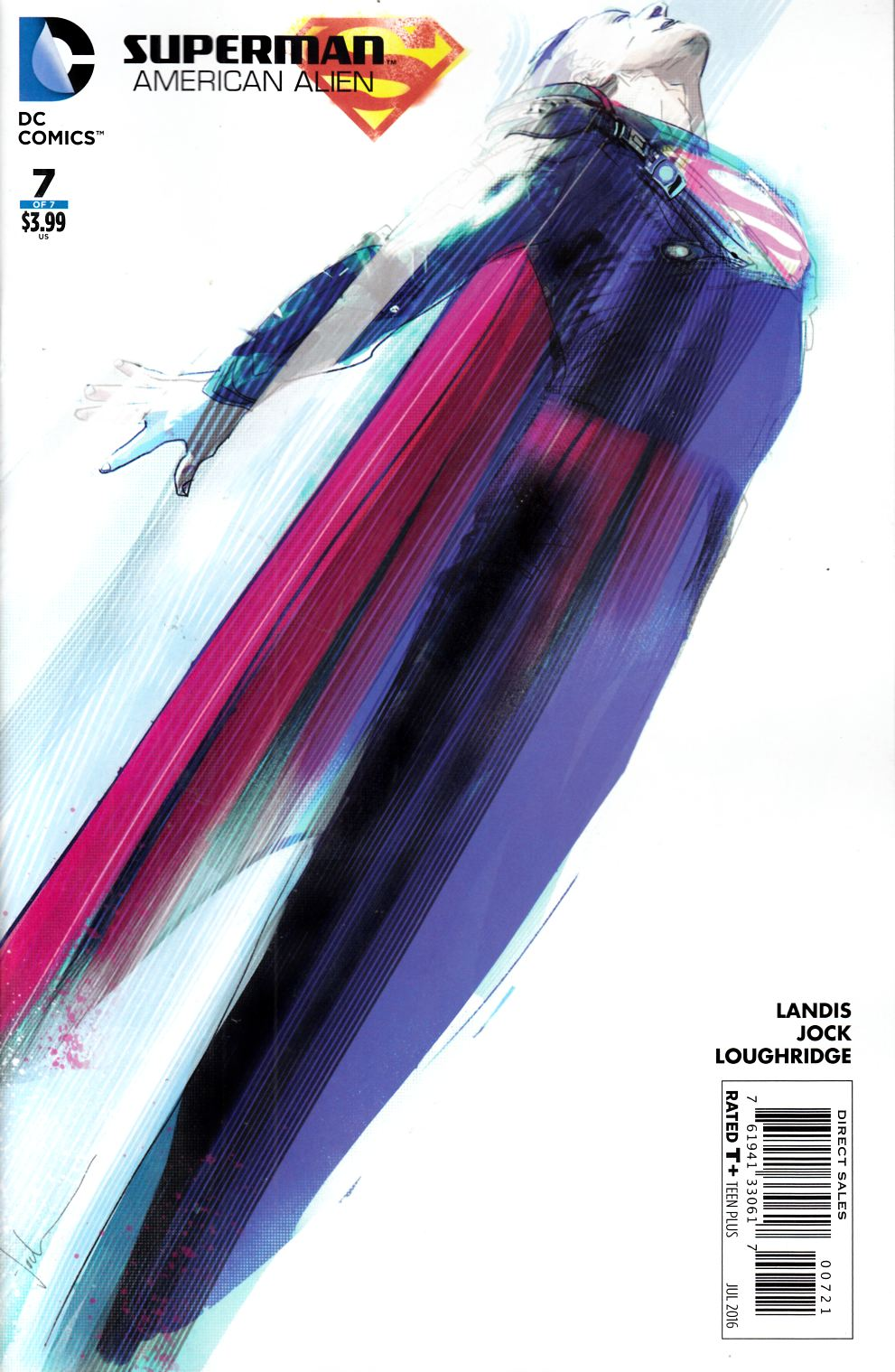 Superman American Alien #7 Jock Variant Cover [DC Comic] THUMBNAIL