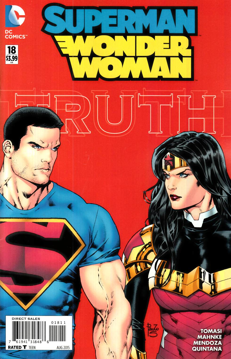 Superman Wonder Woman #18 [DC Comic] THUMBNAIL