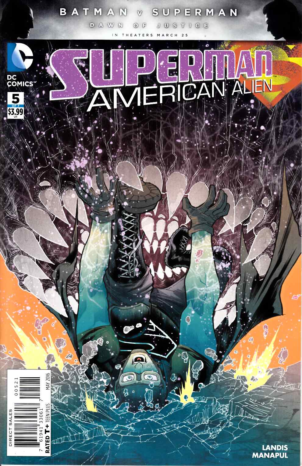 Superman American Alien #5 Manapul Variant Cover [DC Comic] THUMBNAIL