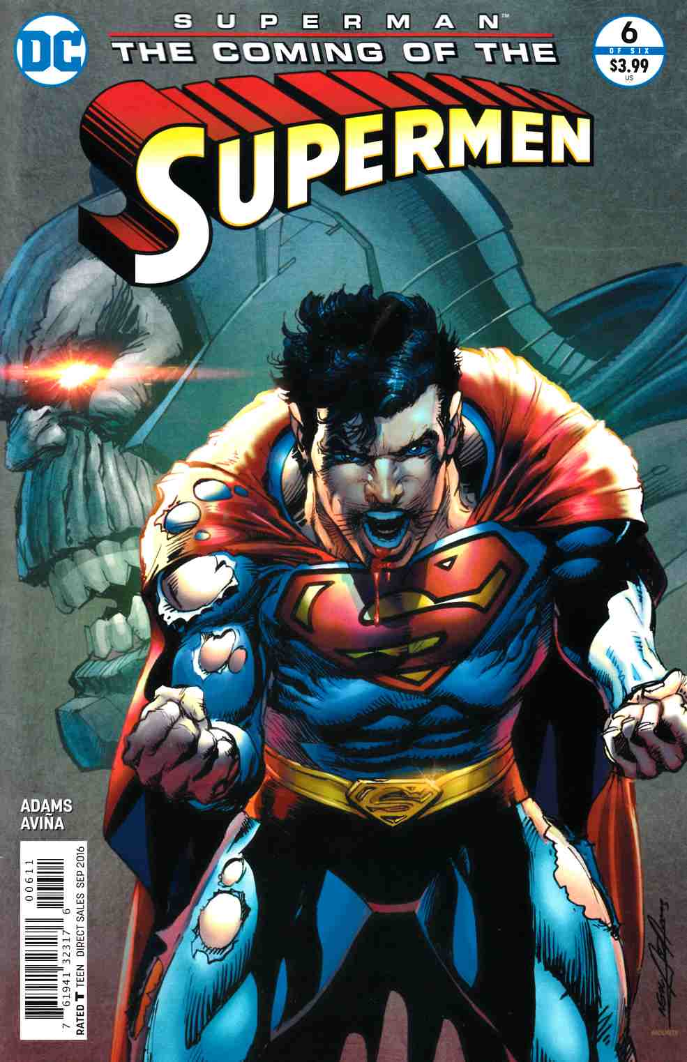 Superman the Coming of the Supermen #6 [DC Comic] LARGE