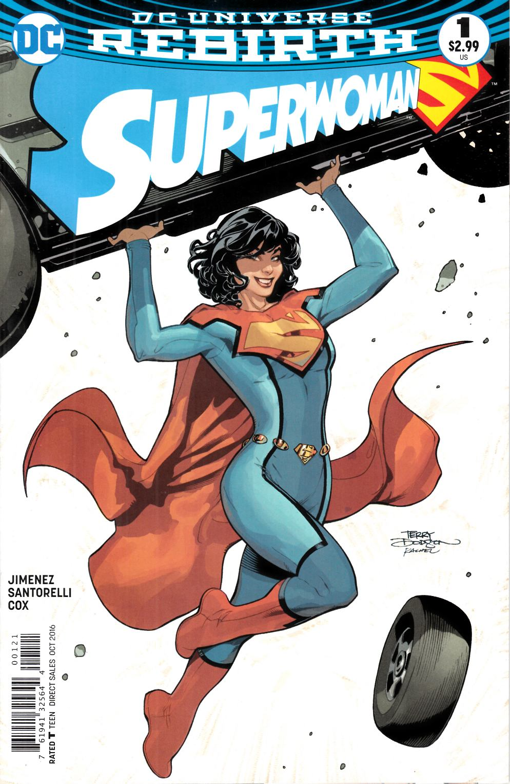 Superwoman #1 Dodson Variant Cover [DC Comic] LARGE