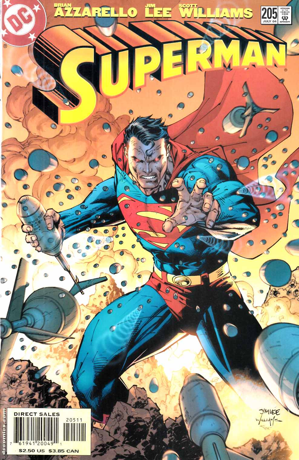 Superman #205 Cover A Near Mint (9.4) [DC Comic] LARGE