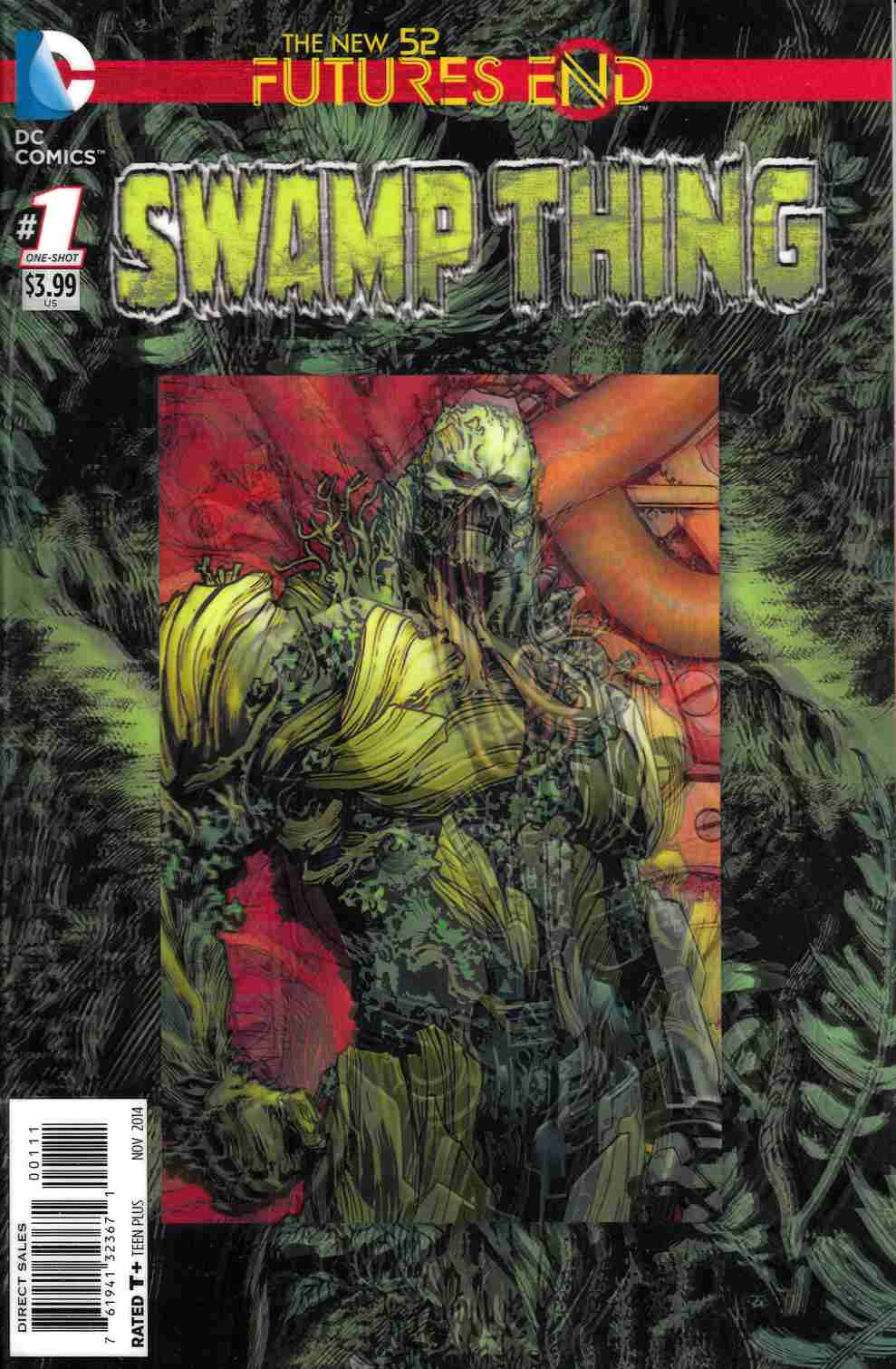 Swamp Thing Futures End #1 3-D Edition [Comic] THUMBNAIL