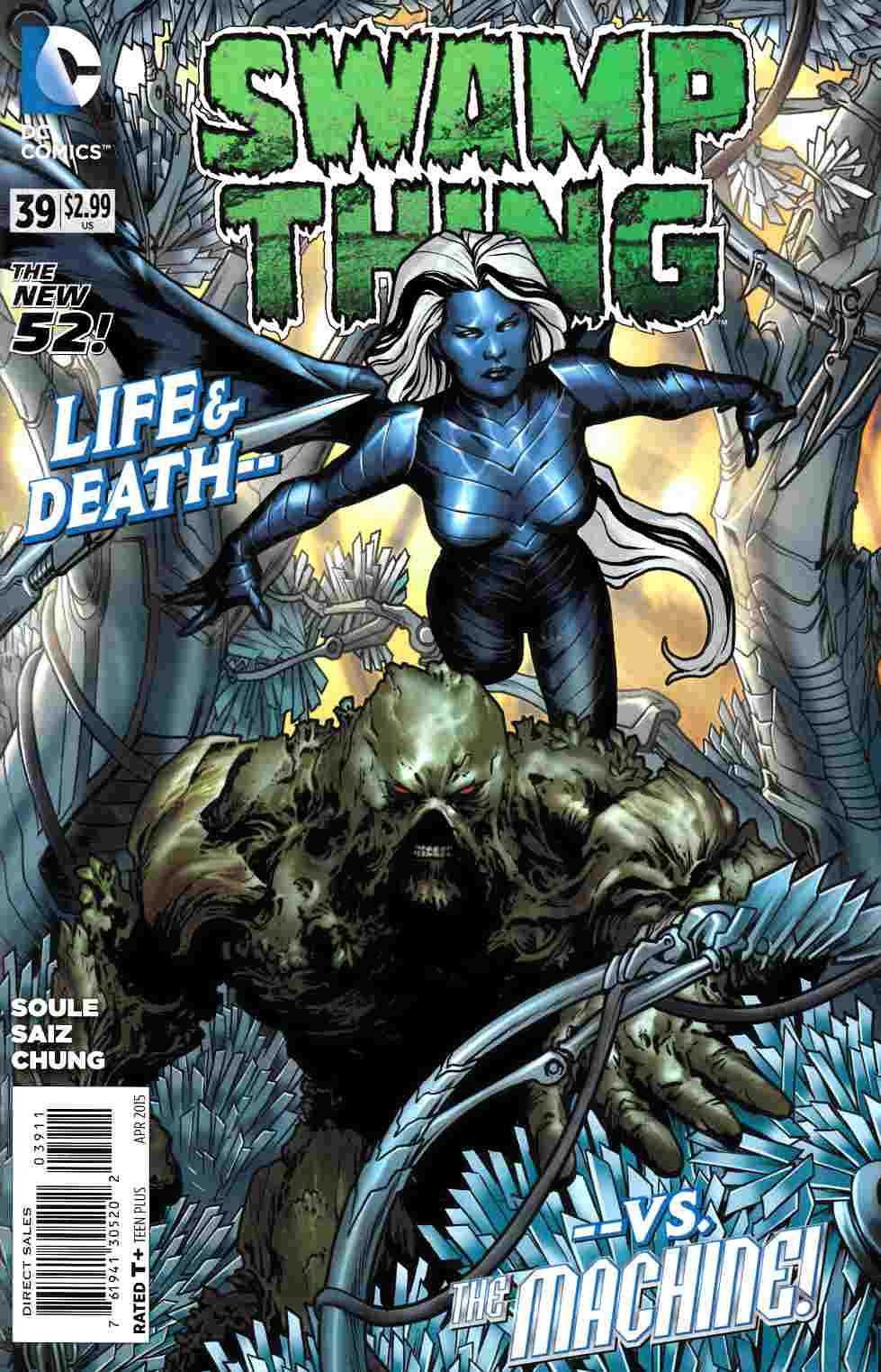 Swamp Thing #39 [DC Comic] THUMBNAIL