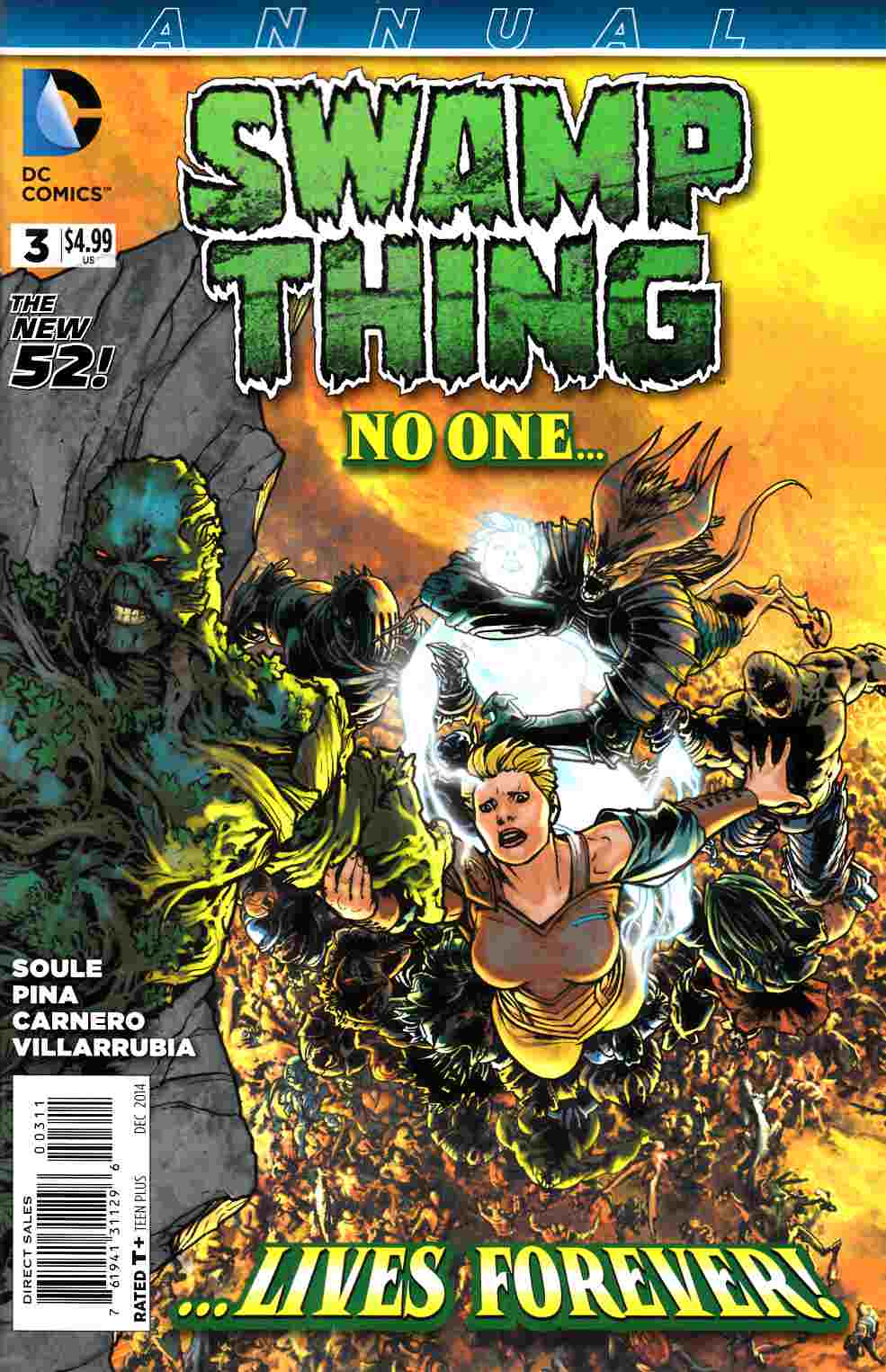 Swamp Thing Annual #3 [DC Comic] LARGE