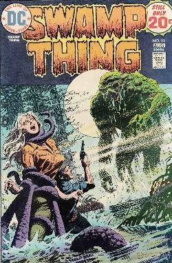 Swamp Thing #11 Very Fine (8.0) [DC Comic] LARGE