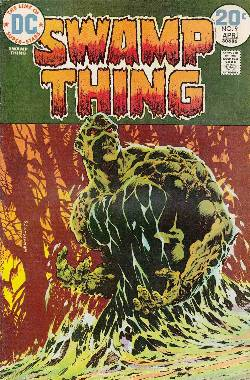 Swamp Thing #9 Fine (6.0) [DC Comic]