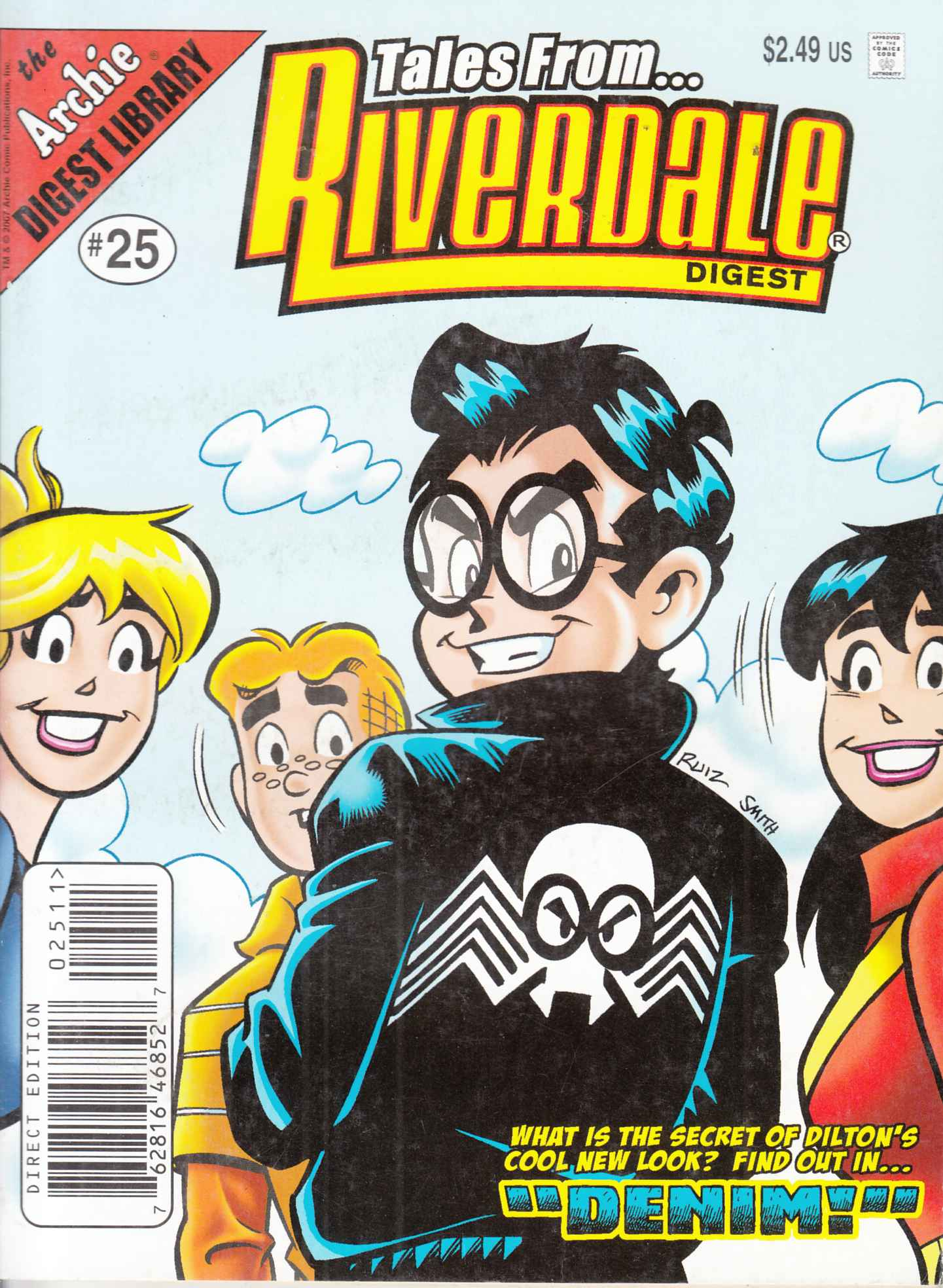 Tales From Riverdale Digest #25 Near Mint Minus (9.2) [Archie Comic] LARGE
