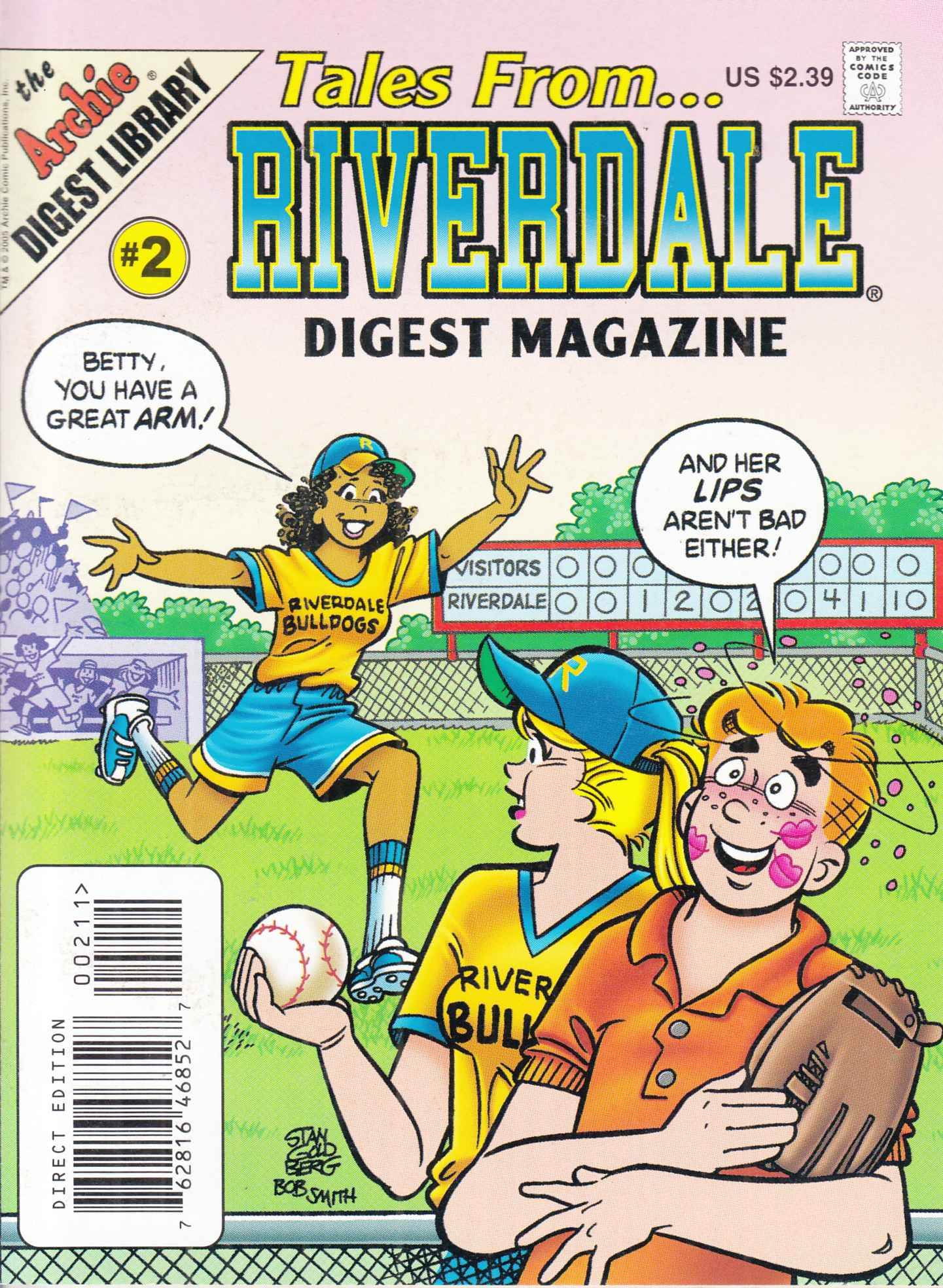 Tales From Riverdale Digest #2 Near Mint (9.4) [Archie Comic]_THUMBNAIL