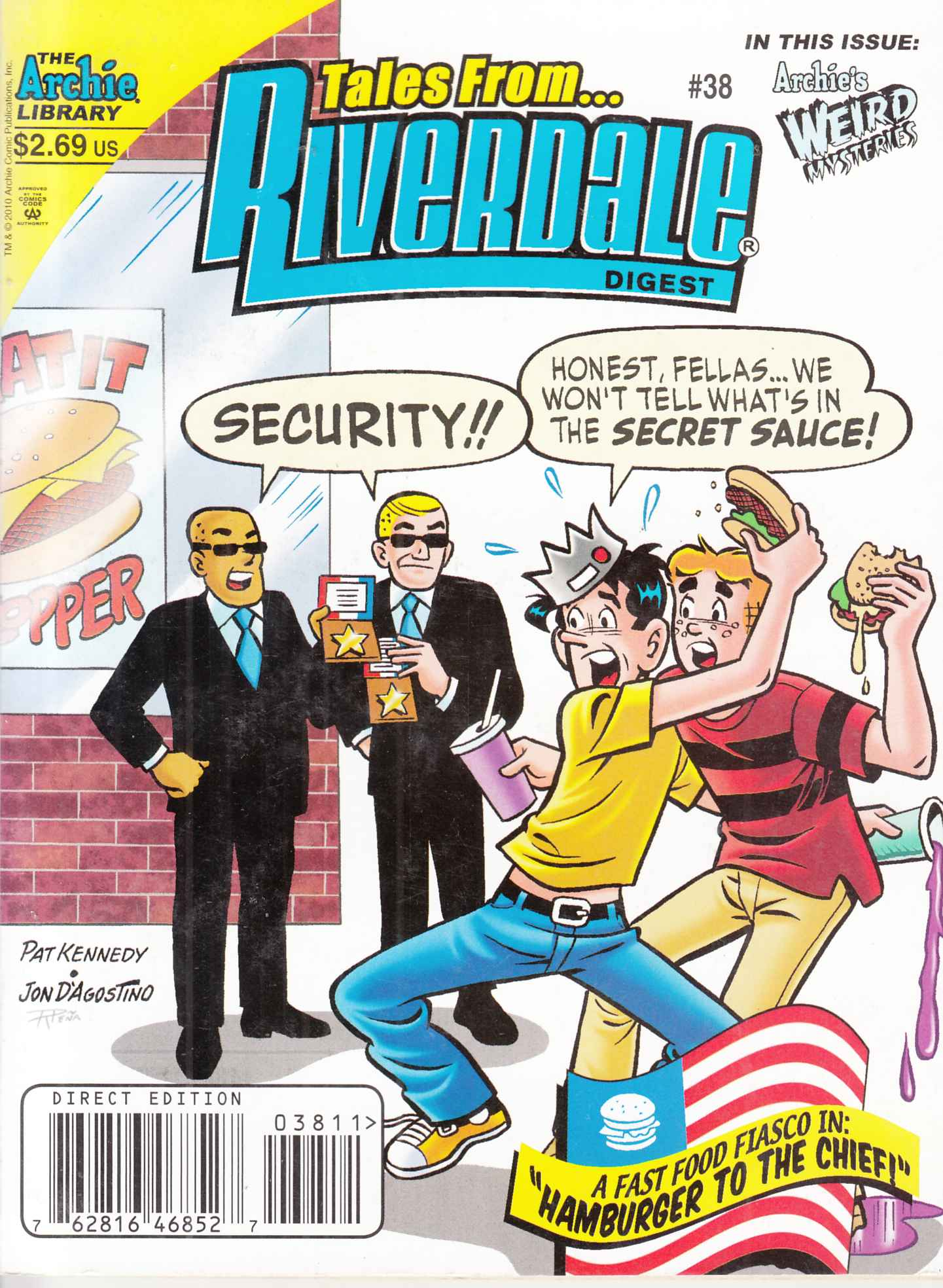 Tales From Riverdale Digest #38 Near Mint (9.4) [Archie Comic] THUMBNAIL