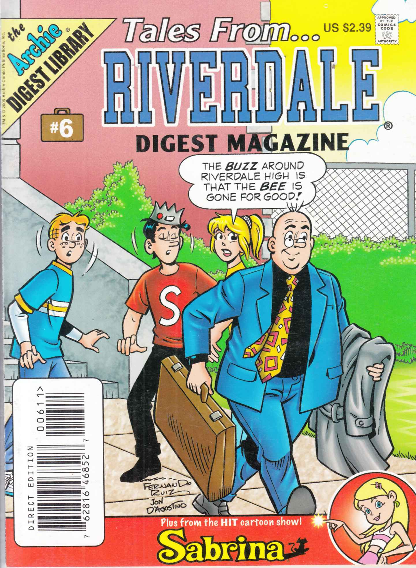 Tales From Riverdale Digest #6 Near Mint  (9.4) [Archie Comic] LARGE