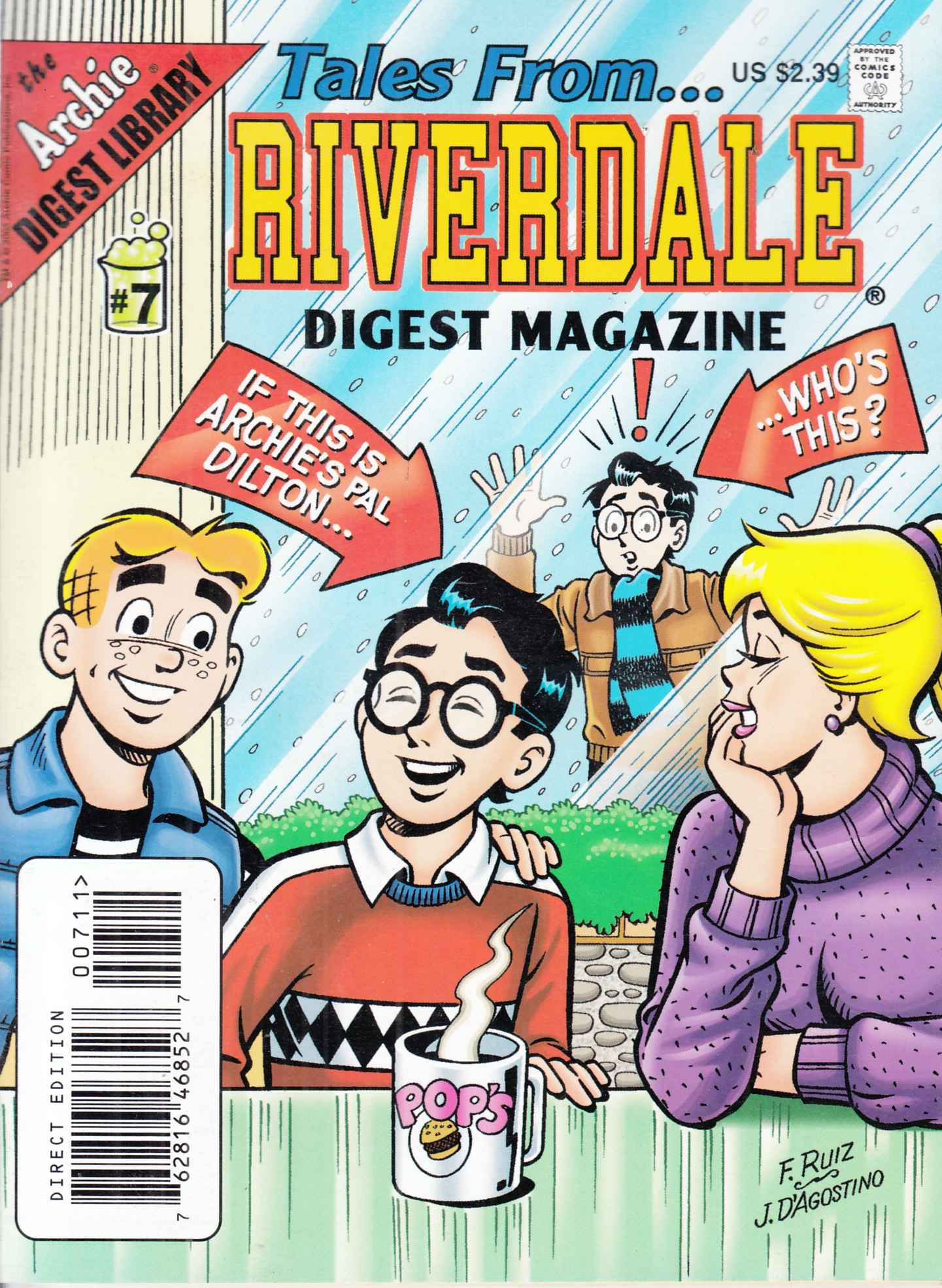 Tales From Riverdale Digest #7 Near Mint  (9.4) [Archie Comic]_THUMBNAIL