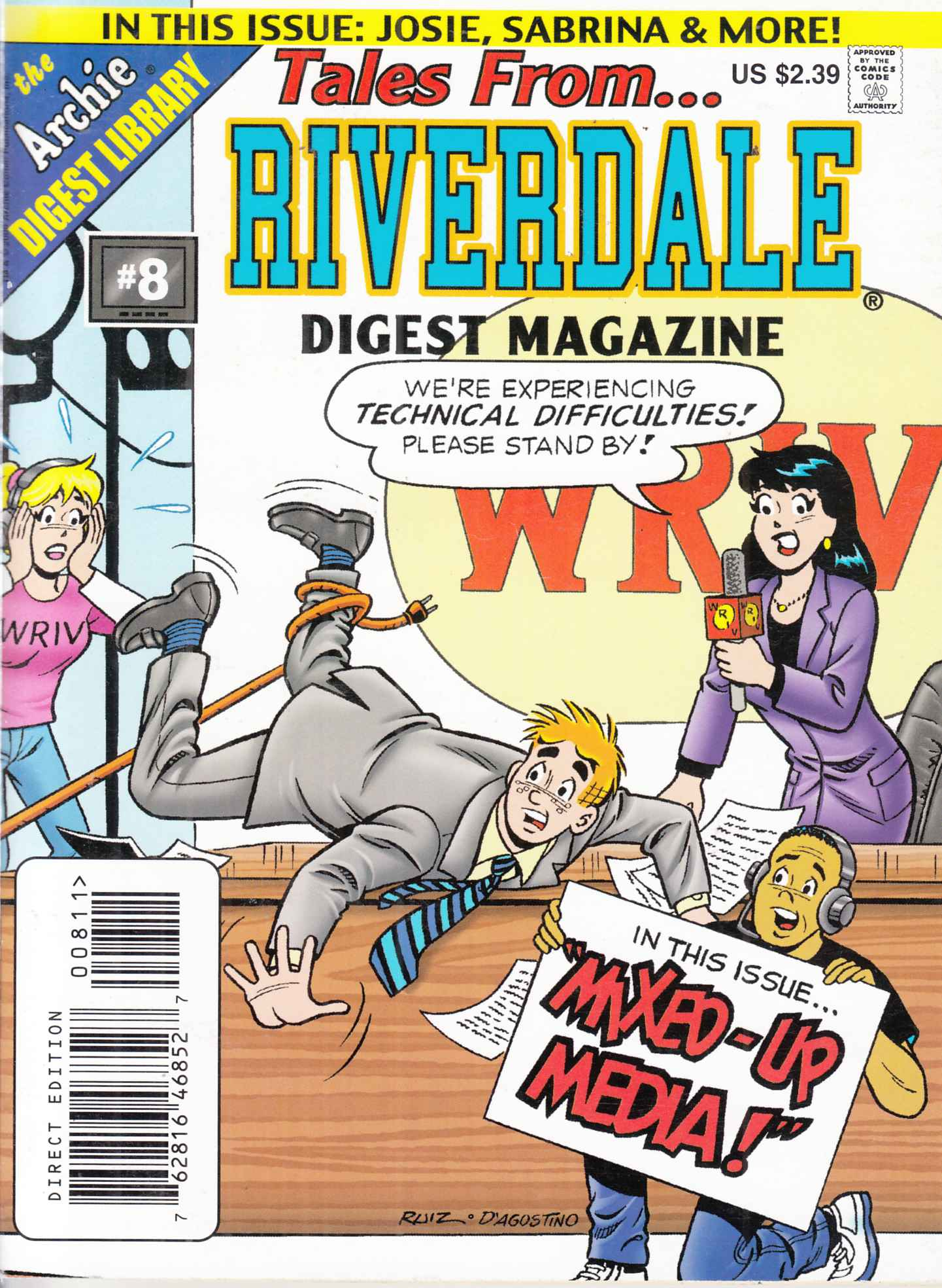 Tales From Riverdale Digest #8 Near Mint  (9.4) [Archie Comic]_THUMBNAIL