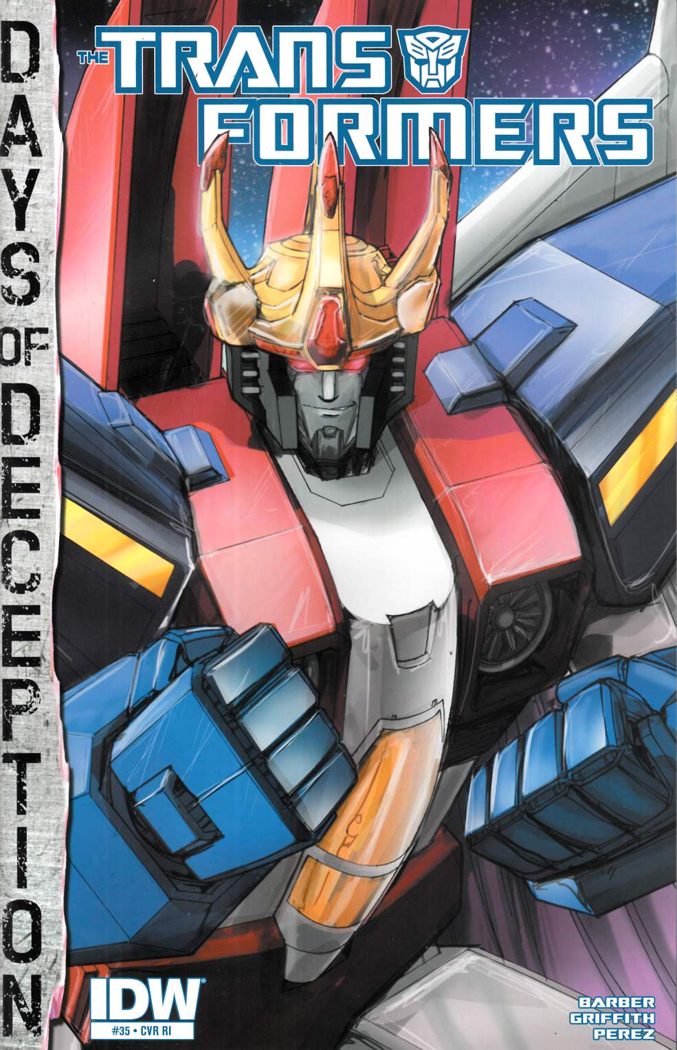 Transformers #35 Cover RI [IDW Comic] THUMBNAIL