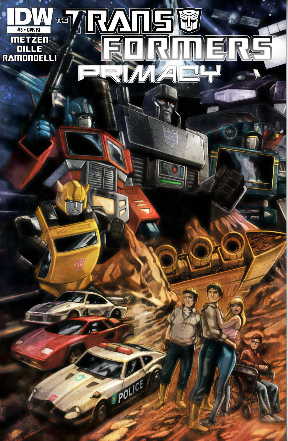 Transformers Primacy #3 Cover RI [IDW Comic] THUMBNAIL