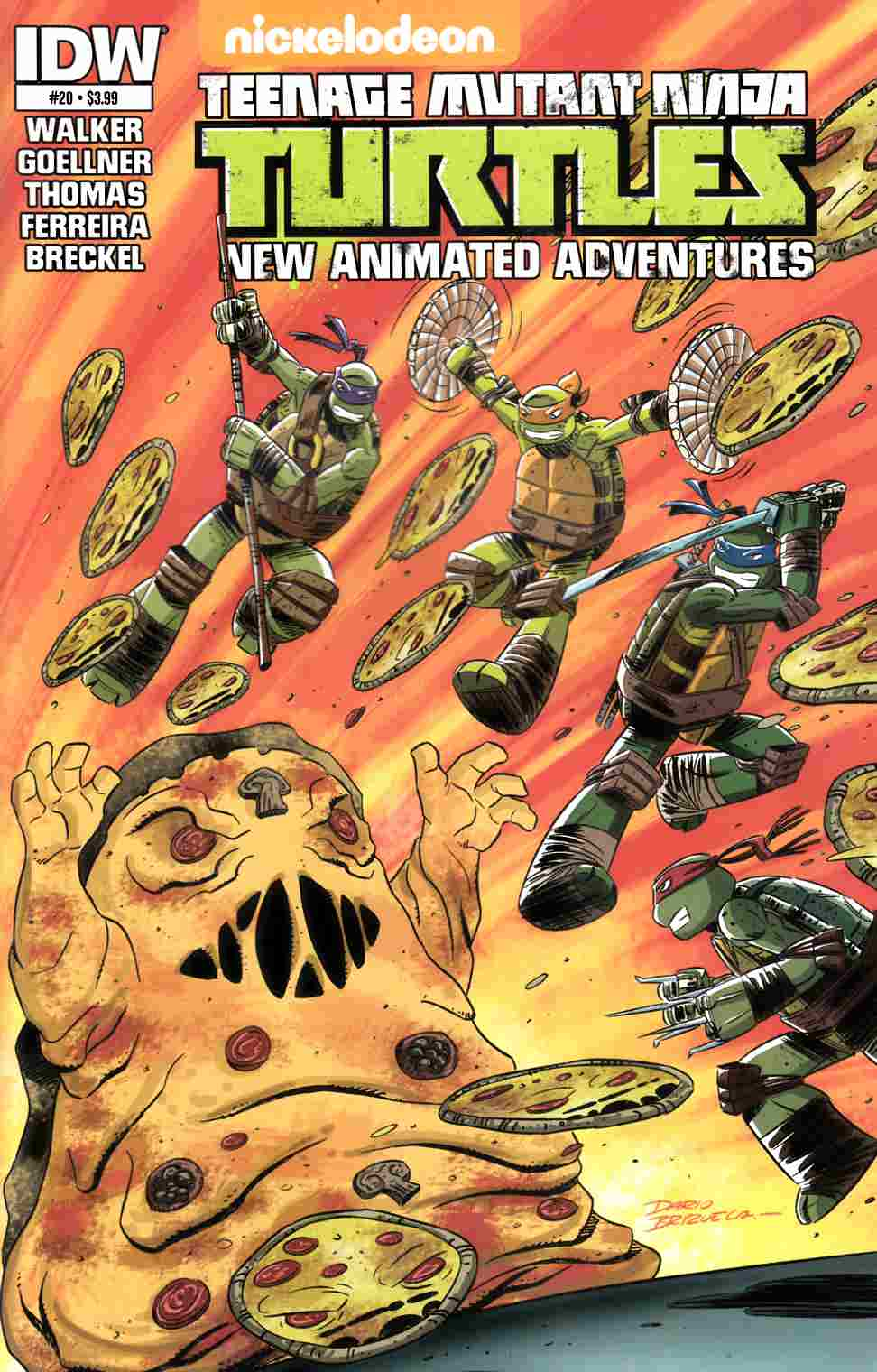 TMNT New Animated Adventures #20 [IDW Comic] THUMBNAIL