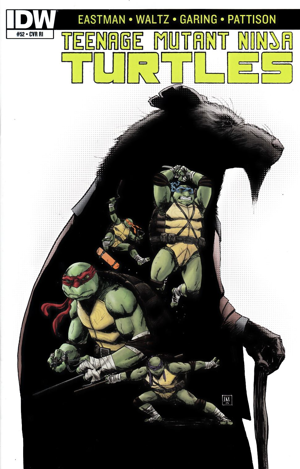 Teenage Mutant Ninja Turtles Ongoing #52 Cover RI [IDW Comic]