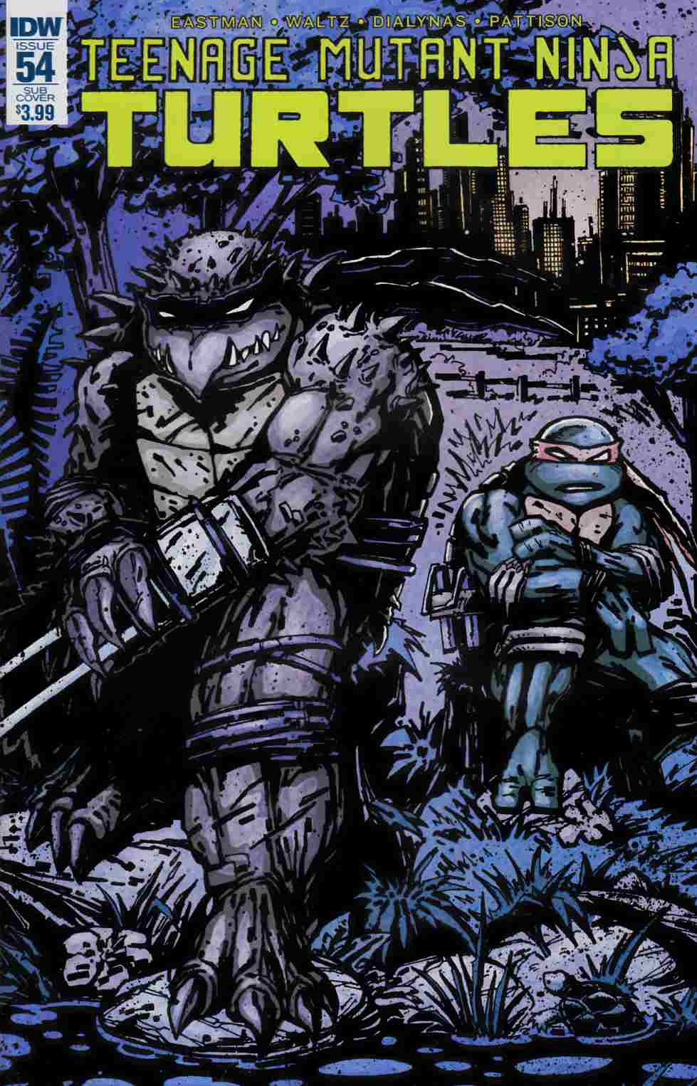 Teenage Mutant Ninja Turtles Ongoing #54 Subscription Cover [IDW Comic]_LARGE
