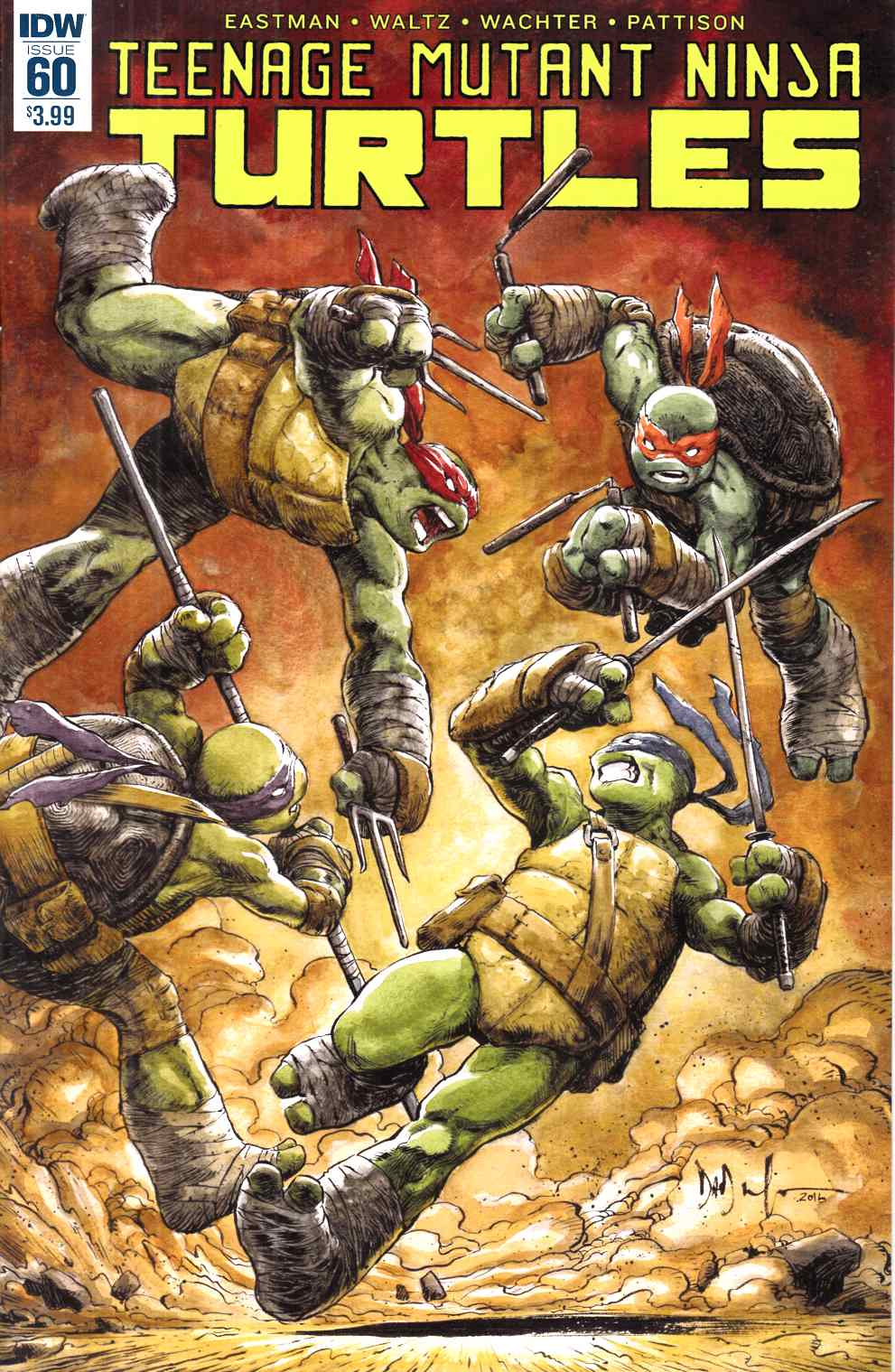 Teenage Mutant Ninja Turtles Ongoing #60 [IDW Comic] LARGE