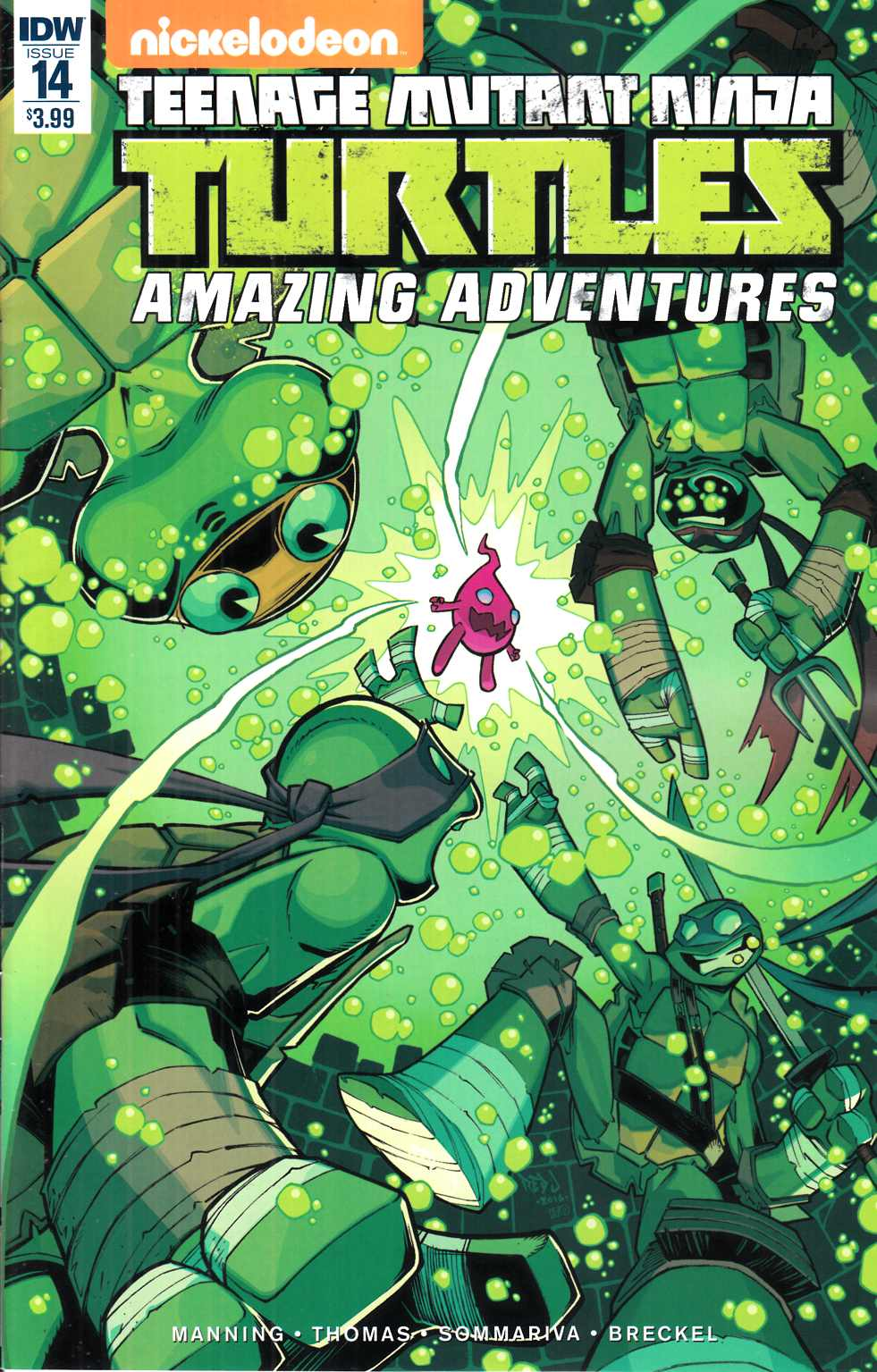 TMNT Amazing Adventures #14 [IDW Comic] THUMBNAIL