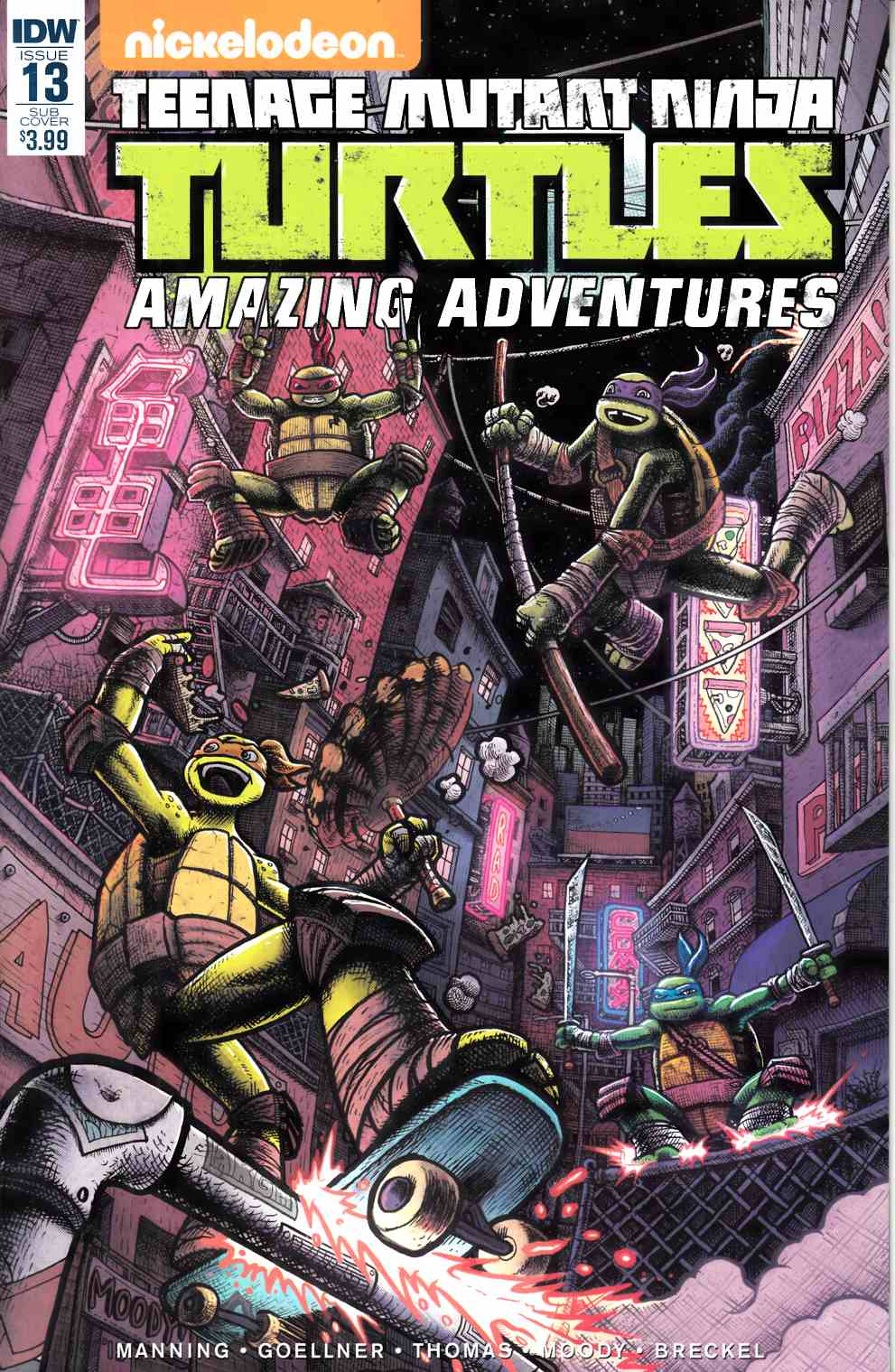 TMNT Amazing Adventures #13 Subscription Cover [IDW Comic] THUMBNAIL