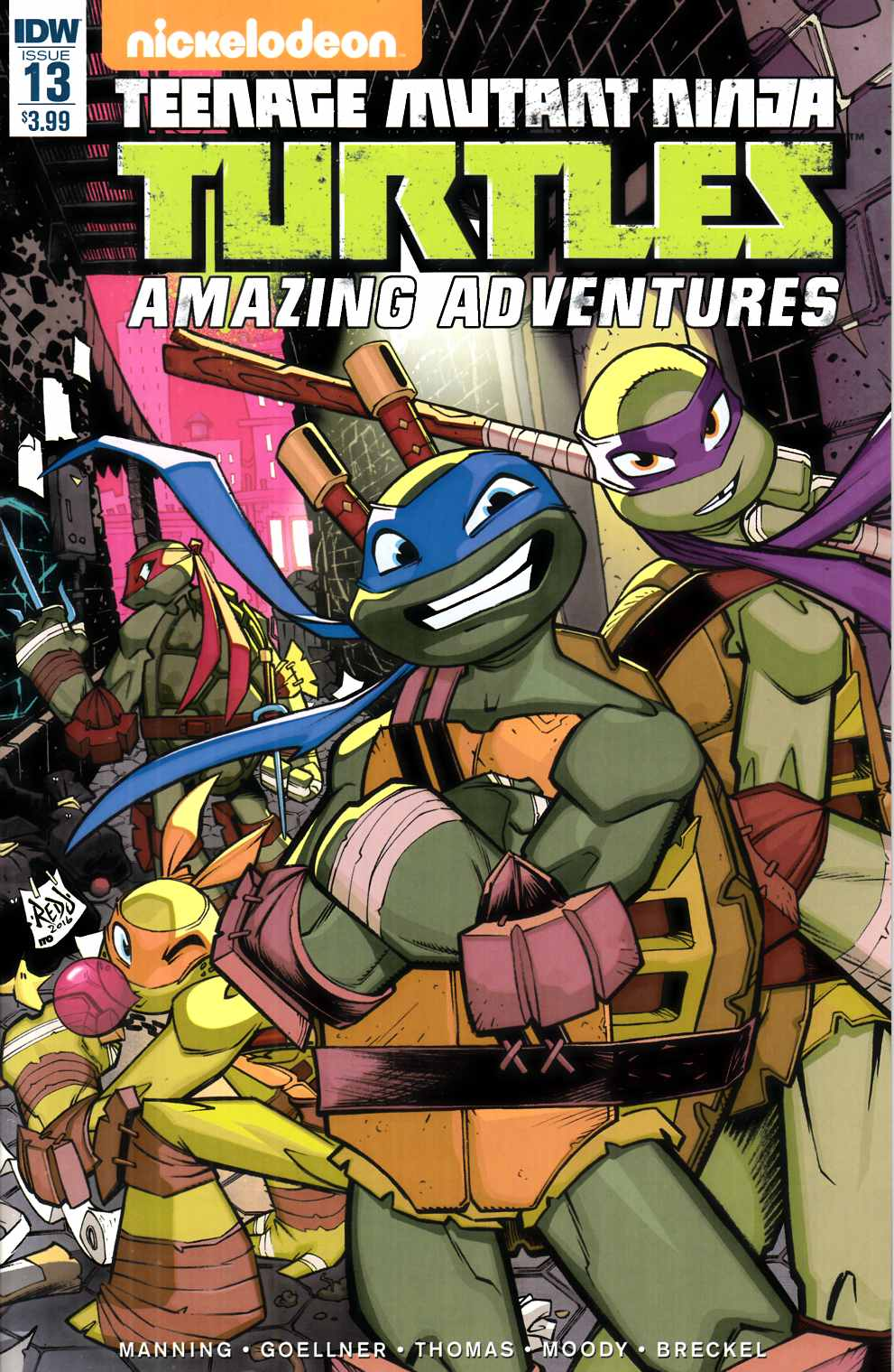 TMNT Amazing Adventures #13 [IDW Comic] THUMBNAIL