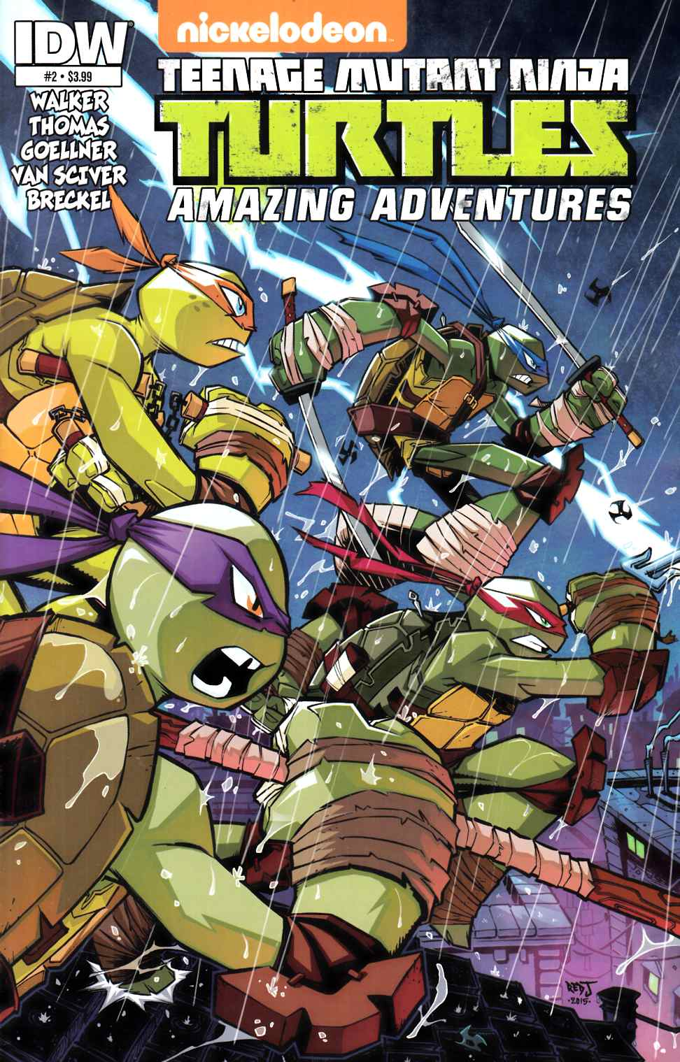 TMNT Amazing Adventures #2 [IDW Comic] THUMBNAIL