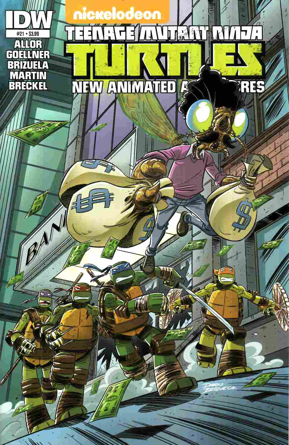 TMNT New Animated Adventures #21 [IDW Comic] THUMBNAIL